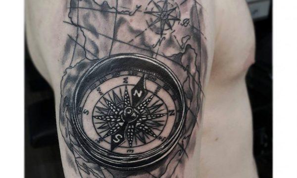 compass-tattoo