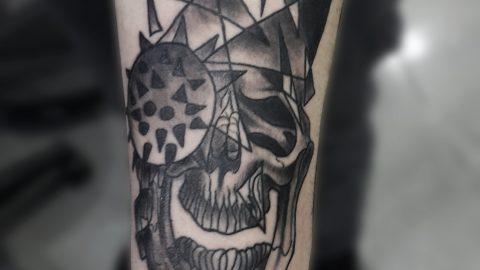 punk-skull-dovme
