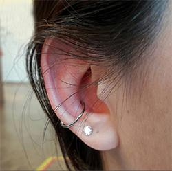 daith piercing bakımı