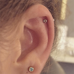 kıkırdan piercing bakımı