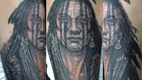 Kemosabe-indian-tattoo
