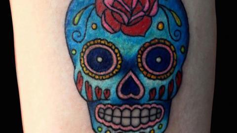 sugar-skull-tattoo