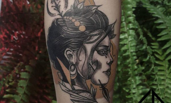 Neotraditional Tattoo