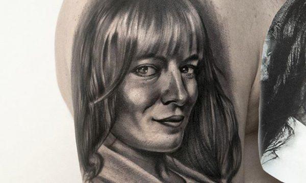 Portre Dövme Çalışması