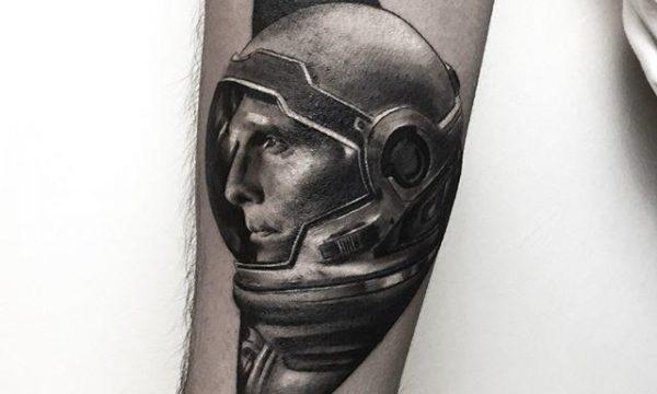 Astronot Dövme